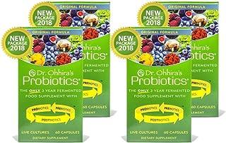 Dr. Ohhira's Probiotics Original Formula, 60 Caps (4 Pack)