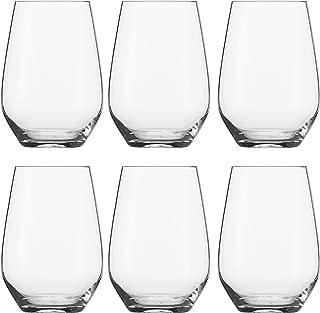 Schott Zwiesel Vina Stemless Universal Glass, Pack of 6
