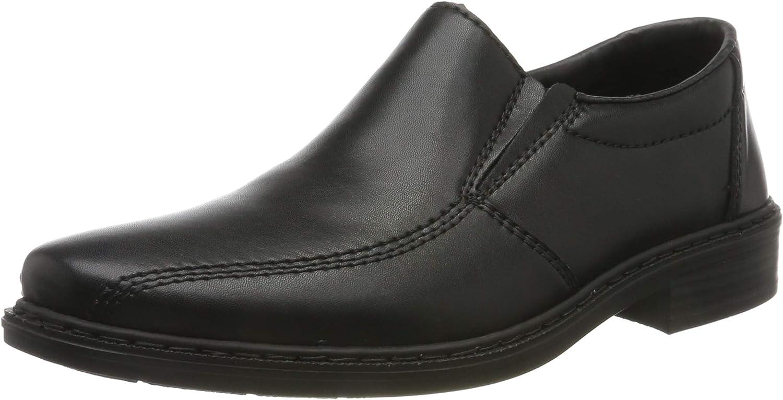 Rieker 14172-00 EDINSLIP Black Mens Slip-on Shoes