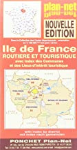 Ile de France Carte Routiere et Touristique (French Edition)