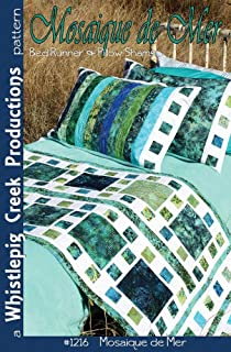 Whistlepig Creek Productions Mosaique De Mer Pattern for Crafts