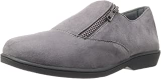 Propet Women's Shannon Loafer,Grey Velour,8 B US