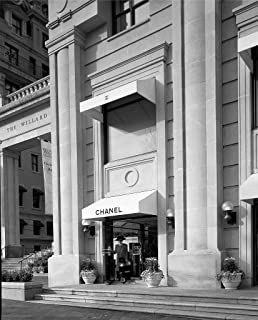 Photography Poster - Female Shopper Comes Out of Chanel Perfume Store That was Located Next to The Willard Hotel, Washington DC in The 1980s, 24