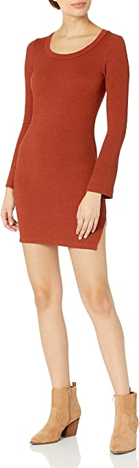 KENDALL + KYLIE Women's Mini Dress with Side Slit