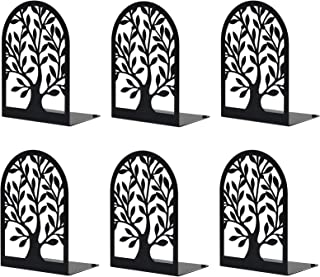 Book Ends, Bookends, Bookends for Home Decorative, Bookends for Shelves, Tree of Life Bookend Supports, Bookends for Heavy...