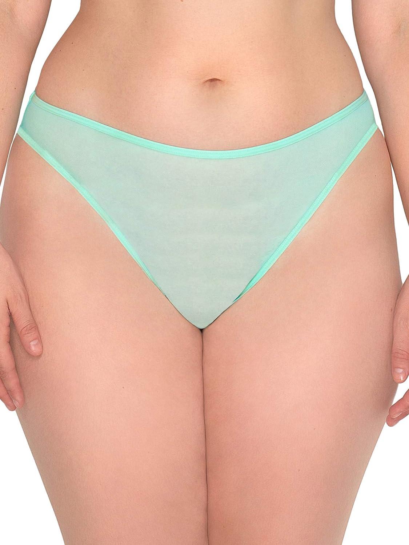 Smart & Sexy Women's Mesh High Leg Panty, 2-Pack