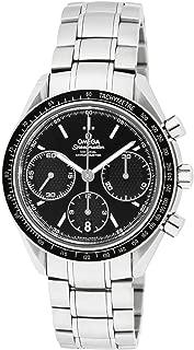 [オメガ] 腕時計 スピードマスター ブラック文字盤 コーアクシャル自動巻 100M防水 クロノグラフ 326.30.40.50.01.001 並行輸入品 シルバー
