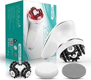 VOYOR Handheld Massager Cordless Deep Tissue Cellulite Massager for Face, Arm, Hand,..