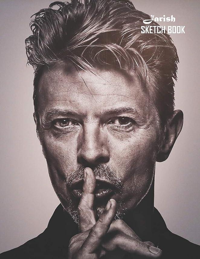 芝生メモ省略するSketch Book: David Bowie Sketchbook 129 pages, Sketching, Drawing and Creative Doodling Notebook to Draw and Journal 8.5 x 11 in large (21.59 x 27.94 cm)