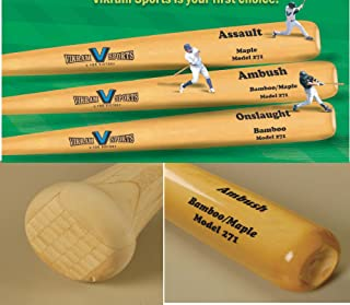 Vikram Sports 2020 Ambush Bamboo/Maple Hybrid Adult Baseball Bat (Model 271) 33 Inch 30 Oz (-3) at Factory Direct Price