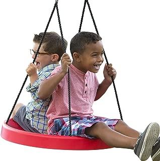 PlayMonster Super Spinner Swing - Fun, Easy to Install on Swing Set Or Tree, 27