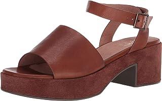 Seychelles Women's Calming Influence Heeled Sandal, Cognac, 10 M US
