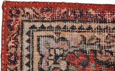 106d9e599 Rozen Kelim Alfombra Vintage – Rojo – Orient – Alfombra Piso Alfombra para  salón, Dormitorio