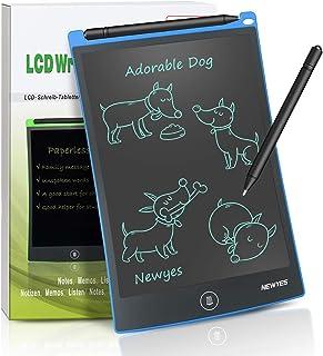 NEWYES NYWT850-8,5 Pulgadas Tableta gráfica portátil y Pizarra Blanca Resistente, Tableta de Dibujo Adecuada para el hogar, Escuela, Oficina, Cuaderno de Notas,1 año de garantía (Azul)
