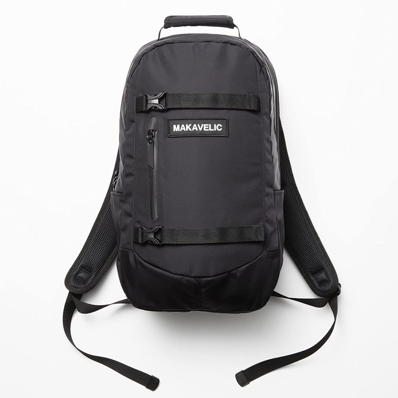 つぼみカバー真鍮[マキャベリック] MAKAVELIC TRUCKS WEATHER PROTECTION DAYPACK 3107-10118 (black)