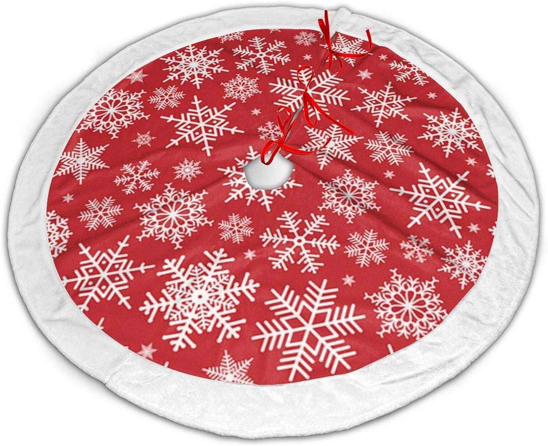 CUICAN Christmas 至高 Tree 商品追加値下げ在庫復活 Skirt Decorations Xmas Snowflak