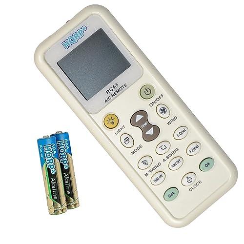 HQRP Télécommande de Climatiseur pour Fujitsu DeLonghi Whirlpool Daikin Toshiba Gree Samsung Sanyo Amcor