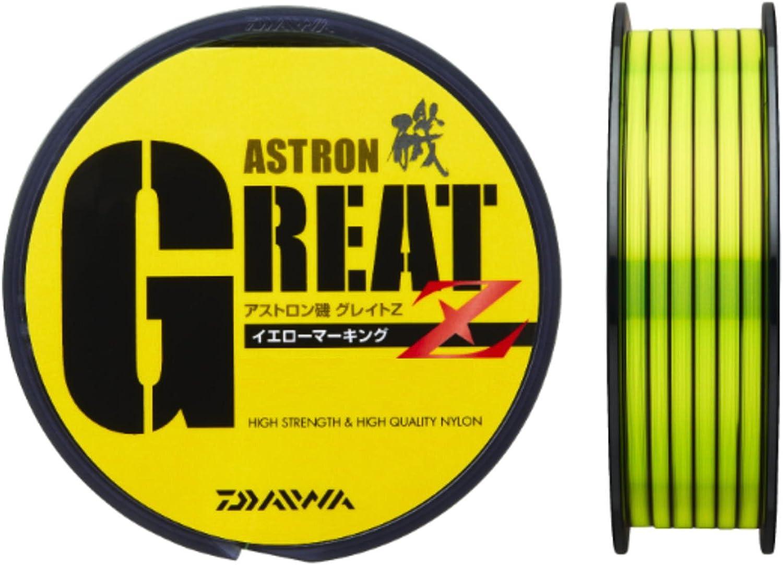 Daiwa line Astron Iso Great Z yellow marking 150m 2 No.