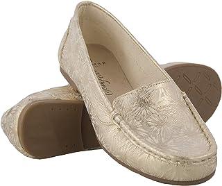 Zerimar Mocassins en Cuir Femme | Loafers Femme | Mocassins Confort Femme | Espadrille Cuir Femme | Mocassin Femme Cuir