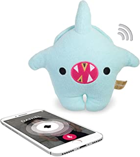 Toymail Talkie Shark Lets You Send Voice Messages from Your Phone (2-Way Phone to Toy). Send Stories and Songs from App. Keep in Touch Wherever You are.