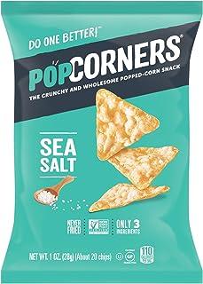 Popcorners Gluten Free Popped Corn Snacks, Sea Salt, 20 Oz