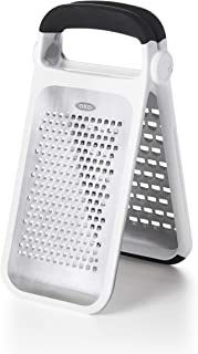 OXO 11216000 Good Grips Etched Two-Fold Grater, Stainless Steel