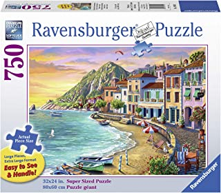 Ravensburger Romantic Sunset 19940 750 Piece Large Pieces Jigsaw Puzzle for Adults, Every Piece is Unique, Softclick Technology Means Pieces Fit Together Perfectly
