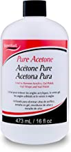 Super Nail Pure Acetone, 16 fl. oz.