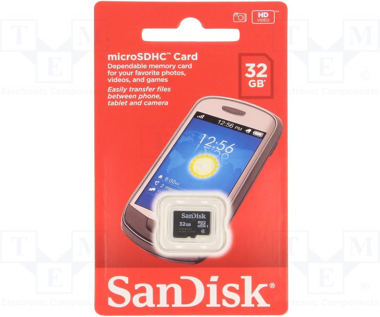 Sandisk Microsdhc 32gb Speicherkarte Computer Zubehör