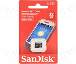SanDisk 32GB Mobile MicroSDHC Class 4 Flash Memory Card With SD Adapter - (Retail Packaging)
