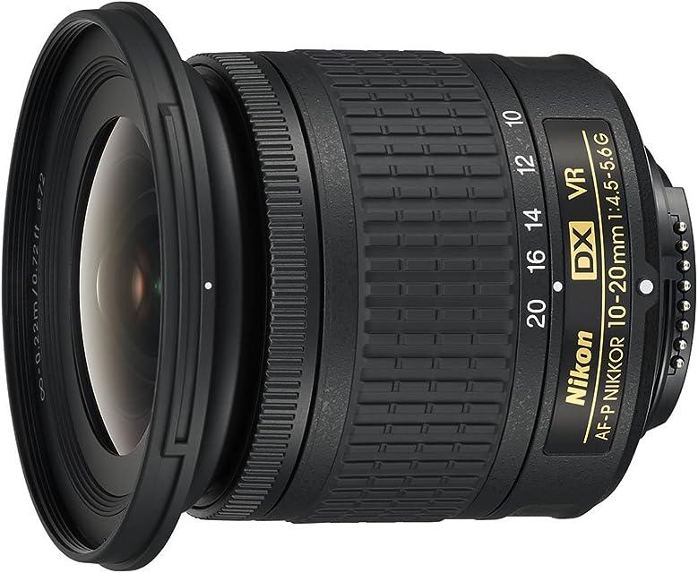 Nikon AF-P DX NIKKOR 10-20mm f/4.5-5.6G VR - Objetivo para cámara color negro