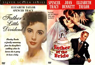 Father of the Bride DVD + Father's Little Dividend Classic Screen Series Elizabeth Taylor & Spencer Tracy bundle
