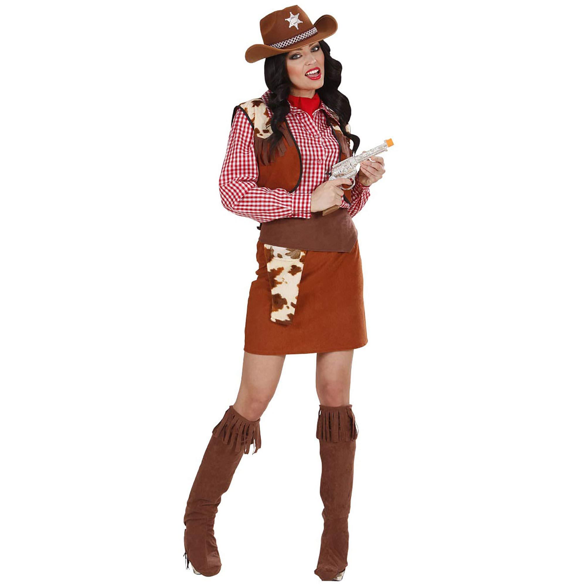 WIDMANN Desconocido Disfraz de Vaquera Oeste Mujer: Amazon.es ...