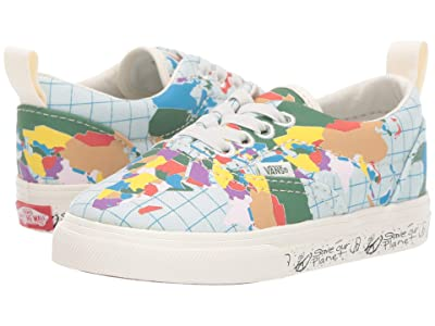 Vans Kids Vans x Save Our Planet Era Elastic Lace (Infant/Toddler) ((Save Our Planet) Classic White/Multi) Kids Shoes