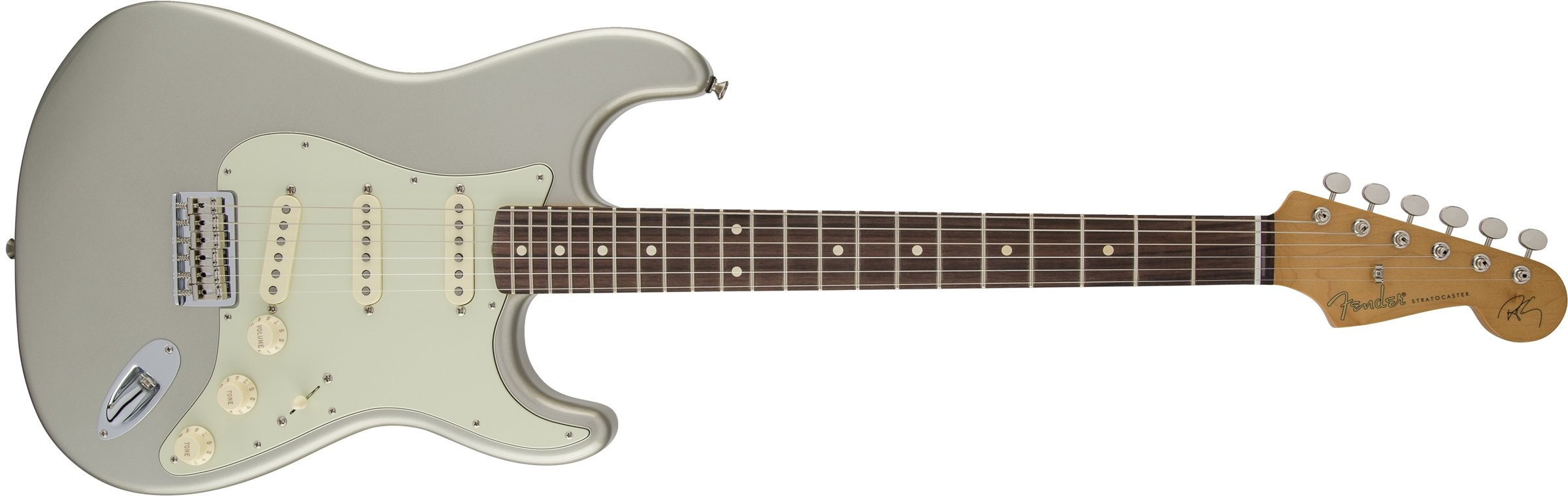 Cheap Fender Robert Cray Stratocaster Electric Guitar Inca Silver Rosewood Fretboard Black Friday & Cyber Monday 2019