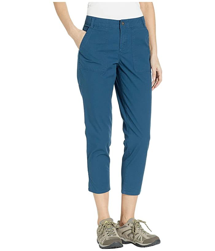 The North Face Ridgeside Capris (Blue Wing Teal) Women