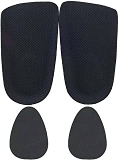Ski & Snowboard Boot Cleat Heel Inserts Wedges for Shoes That are Too Big - 1/8 Inch Pad Inserts for Men and Women for Plantar Fasciitis (A Pair + 2 Fillers)