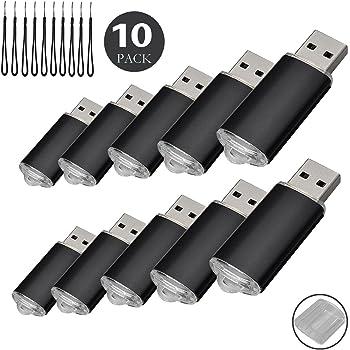 Paquete con 10 memorias USB. Pen Drive USB 2.0 (128.0MB): Amazon.es: Informática