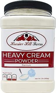 Heavy Cream Powder Jar, Hoosier Hill Farm (2 lbs), Hormone Free