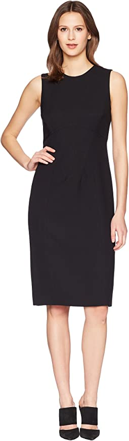 Prabal Gurung - Poly Crepe Sleeveless Corset Seam Sheath Dress