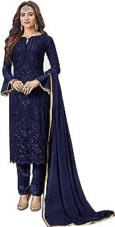 Women's Indian Pakistani Heavy Net Ready to wear Salwar Suit