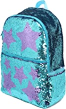teal sequin backpack