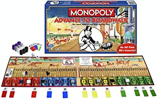 Winning Moves Games Monopoly Advance to Boardwalk - The Classic Game of High Rises & Fast Falls! Children's Board Game