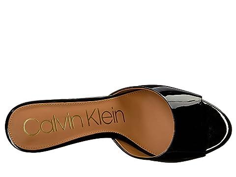 Mule Calvin Klein Mule Black Luc Calvin Luc Black Klein Uqw5z5