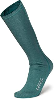 WETSOX Frictionless Wetsuit Boot Socks Slip Easily In/Out of Gear(Green, Large)
