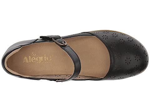 Alegria Black Black Rene Butter BurnishCognacWhite Rene Alegria BurnishCognacWhite Butter q4qnHRf