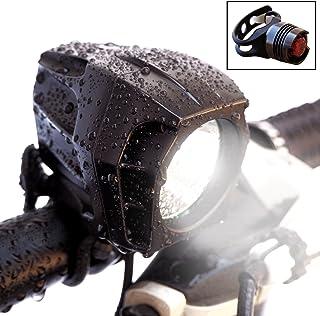 Bright Eyes Fully Waterproof 1600 Lumen Rechargeable Mountain, Road Bike Headlight, 6400mAh Battery (Now 5+ Hours on Brigh...