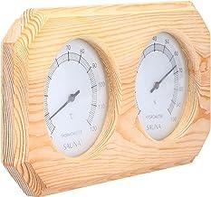 CHICIRIS Hygromètre de Sauna, Accessoires de détection d'humidité Thermomètre de Sauna pour Gymnase pour Sauna pour Maison...