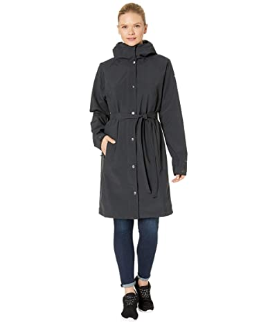 Columbia Here and Theretm Long Trench Jacket (Black) Women
