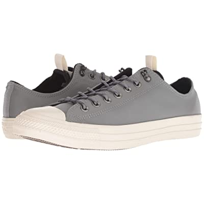 Converse Chuck Taylor All Star Leather Ox (Mason/Black/Driftwood) Lace up casual Shoes